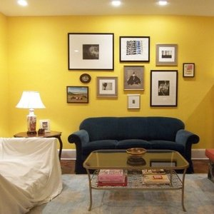 Pomysły na dekorację ściany w pokoju dziennym