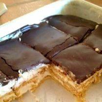 Przepis na ciasto à la baton Snickers