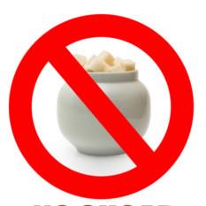 Nie kupuj słodzonych produktów