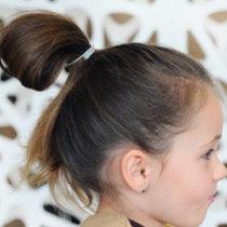 Pętelka z włosów