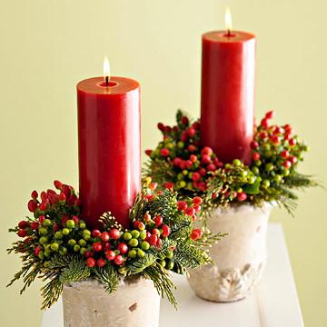 Jak przekształcić doniczkę w stroik bożonarodzeniowy?