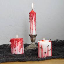 Jak zrobić krwawe świeczki na Halloween?
