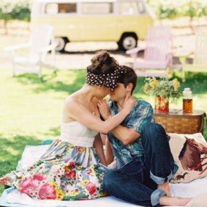 Romantyczny piknik we dwoje