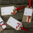 Jak wykonać bożonarodzeniowe bileciki do prezentów