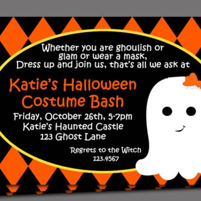 Pomysły na zaproszenia na imprezę Halloween