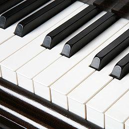 Mycie klawiatury pianina