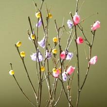 Jak przygotować drzewko z gałązek i bibuły?