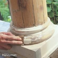 Jak używać szpachli do drewna?