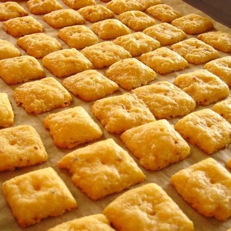 Przepis na domowe krakersy