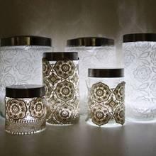Jak zrobić lampion ze słoika i koronki?