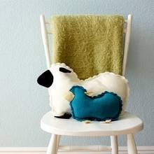 Jak uszyć poduszkę w kształcie owieczki?
