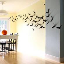 Jak zrobić na ścianie halloweenową kolonię nietoperzy?