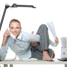 Jakie ćwiczenia wykonywać podczas pracy siedzącej?