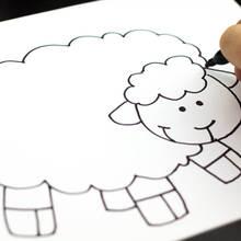 Sposób na narysowanie owieczki