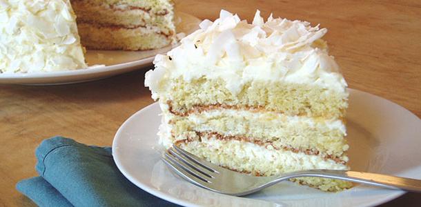 Przepis na kokosowe ciasto na herbatnikach bez pieczenia