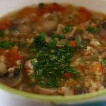 Przepis na nietypową zupę pieczarkową