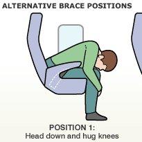 Przyjmij bezpieczną pozycję