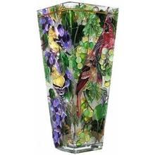 Jak namalować wzory na szklanym wazonie?
