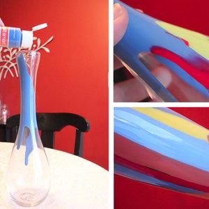 Jak pomalować wazon od wewnątrz?