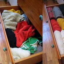 W jaki sposób składać swetry?