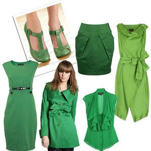 Uwaga na zielony kolor