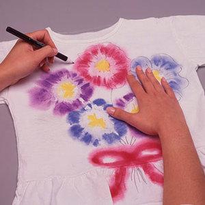 Malowanie koszulki