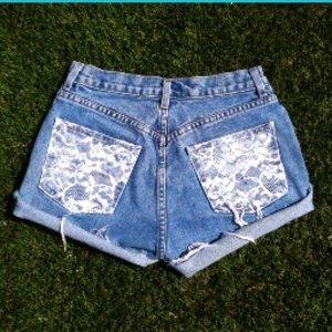 Szorty ze starych jeansów