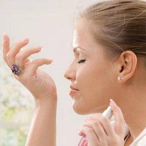 Antyperspirant i perfumy