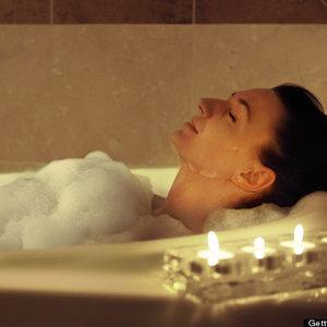 Kąpiel przed snem
