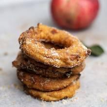 Przepis na smażone jabłkowe krążki