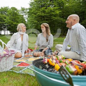 Grill na pikniku