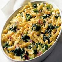 Przepis na serowo-brokułową zapiekankę makaronową