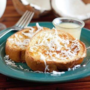 Przepis na słodkie tosty z kokosem