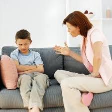 Brak umiejętności mówienia tak, żeby dziecko słuchało