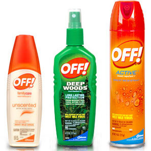 Użyj środków przeciwko komarom