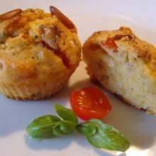Przepis na wytrawne muffiny z mozzarellą