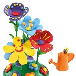 Zabawa z dzieckiem – robimy kwiatek