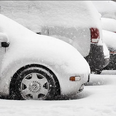 Prawidłowe parkowanie zimą