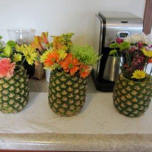 Jak wykonać wazon z ananasa?