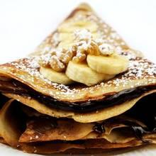 Przepis na naleśniki z nadzieniem czekoladowo-bananowym