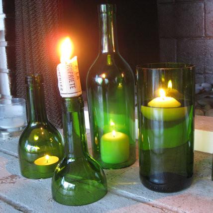 Jak przerobić butelkę na śliczny świecznik?