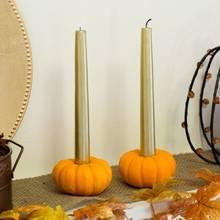 Pomysł na wykorzystanie minidyń – świeczniki