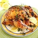 Przepis na kurczaka pieczonego w tymianku i cytrynie