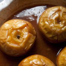 Przepis na jabłka pieczone z bardzo słodkim nadzieniem