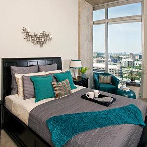 Dekoracja łóżka