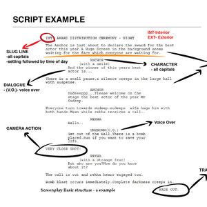 Czytaj scenariusze filmowe
