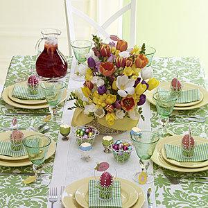 Dekoracja stołu wielkanocnego – porady i wskazówki