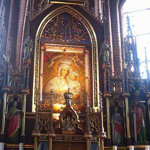 Gietrzwałd. Sanktuarium Matki Bożej Gietrzwałdzkiej
