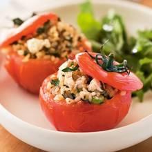 Przepis na pomidory faszerowane serem feta