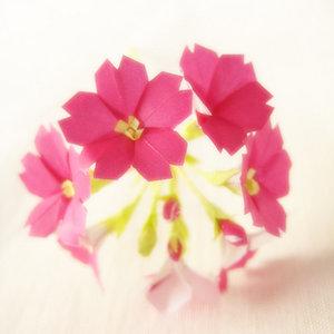 Przyklejanie kwiatów